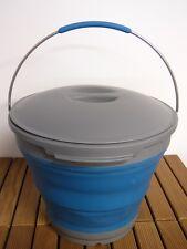Faltbarer Eimer  Transport- und Vielzweckeimer, Inhalt 7,5 Liter mit Deckel