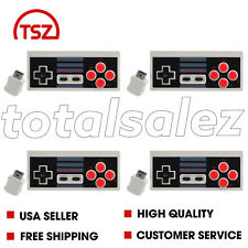4 For Nintendo NES Classic Edition Mini Video Game Pad Wireless Controller