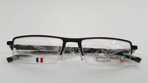 TAG HEUER FRAMES GLASSES IN BLACK MODEL 0822 001 BRAND NEW & UNDER £100 ! t5