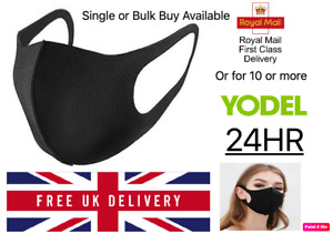 Face Mask Washable UK Reusable Breathable Protection Wholesale Yodel 24HR