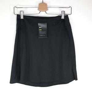 Nike Dri Fit Victory Golf Skirt BV0253-010 Black Women's XS