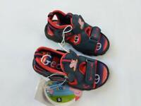 Boys Peppa Pig George Pig Junior Sandals Casual Summer Footwear Navy
