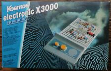 Kosmos electronic X 3000 Elektronik unvollständig mit Anleitungsbuch gebraucht