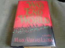 MARIO VARGAS LLOSA SIGNED - THE WAR OF THE END OF THE WORLD - NOBEL PRIZE