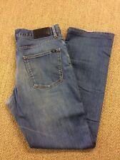 Mens LACOSTE W34 L32.5 Blue Stretch Denim Jeans Superb