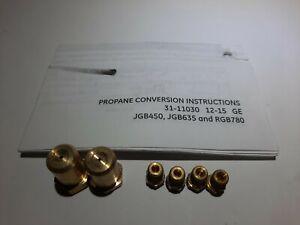 GE RANGE Propane Conversion Kit JGB450,JGB635,RGB780 With Installation Manual.