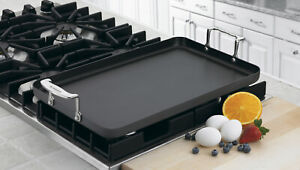 Cuisinart Hard Anodized Double Burner Griddle, Chef's Classic
