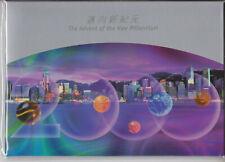 HONG KONG MNH PRESENTATION PACK 1999 NEW MILLENNIUM FIVE ELEMENTS SG MS1000