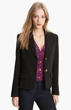 $395 Brown TORY BURCH Beverly Jacket Blazer Career Work NWT Large