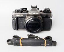 Olympus OM-3 Ti OM3 Ti 35mm SLR Film Camera, Black