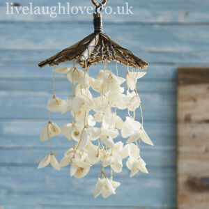 Driftwood Natural White Shell Mobile