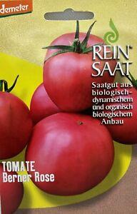 Tomate Berner Rose - Saatgut - Samen  - Demeter - Tomatensamen Bio Reinsaat