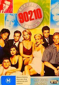 Hh4 Brand New Sealed-BEVERLY HILLS 90210: SEASON 5 R4 DVD Rare