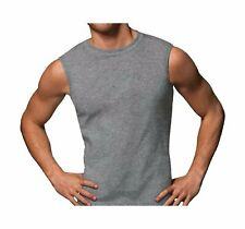 Hanes Men's Sport Styling Cotton Sleeveless T-Shirts w/ Cool DRI 4-Pack Size 2X