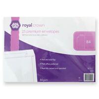 x 25 353x250 mm A4 B4 Premium Business White Paper Envelopes Mailer Peel Stick