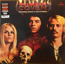 Coven - Witchcraft Destroys Minds & Reaps Souls LP Orange Colored Vinyl Album
