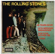 The ROLLING STONES   As tears go by     7'  EP 45 tours 02/1970