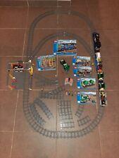 Lego City 60052 Le train de marchandises + lot de rails et aiguillages /Complet