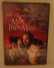 THE MAN IN THE IRON MASK, DVD, DICAPRIO, IRONS,