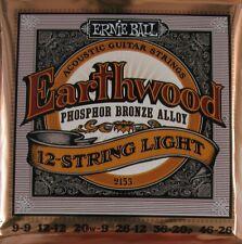 Ernie Ball 2065 10 Pack Earthwood 80//20 Bronze Acoustic Mandolin Medium Strings