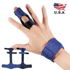Finger Splint Finger Blue Orthotics Braces Orthopedic Sleeves Ebay