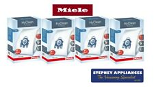 MIELE GENUINE GN HYCLEAN 3D - 4 BOXES - PACK VACUUM BAGS 16 BAGS 8 FILTERS