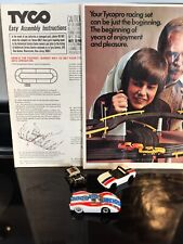 2 TycoPro Chassis Slot Cars & Documents - 908 Porsche Long Nose Tested Works!