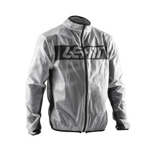 LEATT RAIN JACKET RACE COVER CLEAR ADULT WATERPROOF MOTOCROSS MX ENDURO BMX MTB
