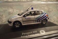Nice 1/43 Peugeot 206 Brussels Belgium Police Brussels West Hongwell