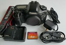 Canon 5D 12.8MP Full Frame Camera with 4GB CF Card USB Cable Battery Charger
