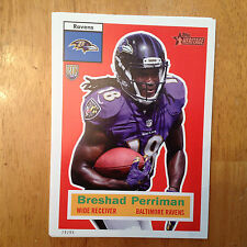 BRESHAD PERRIMAN #77 RAVENS WR RC #ed/99 made 2015 Topps Heritage Throwback 5x7