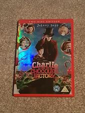 CHARLIE AND THE CHOCOLATE FACTORY (DVD 2 DISC SET) JOHNNY DEPP