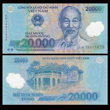 Vietnam Viet Nam 20000 20,000 Dong, Polymer, 2014-2016, P-120, UNC