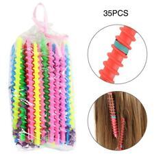 35pcs Plastic Styling Barber Salon Tool Women Hairdressing Spiral Hair Perm Rod