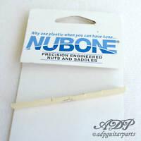 Sillet entaillé NuBone Fender Style Flat Bottom Slotted Nut LC-5010-10