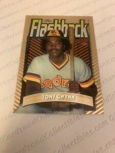 1998 Topps Tony Gwynn #FB6 - Chrome Flashback - Baseball Card
