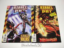 Azrael Agent Of The Bat #48 & 49 Comic Lot DC 1999 No Man's Land Batman O'Neil