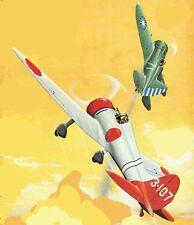 "Model Airplane Plans (UC): Mitsubishi ""Claude"" 1/12 Scale 36"" .19-.35 (Musciano)"
