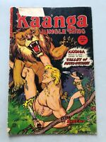 Kaanga (1949) #16 Cover Ripped