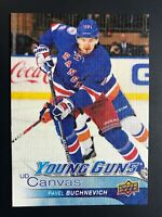 2016-17 Pavel Buchnevich Young Guns Canvas Rookie