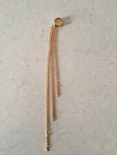 HOT Ear Cuffs Clip On Earring Chain Tassel Vintage Jewellery Long GOLD