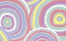 "108"" Wide Backing x 3 yards CIRCLES Pastel by Kaffe Fassett  SALE"
