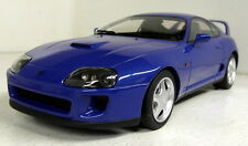 LS Collectibles 1/18 Scale Toyota Supra MK4 1993 Blue Resin Model Car