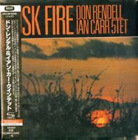 DON RENDELL / IAN CARR QUINTET-DUSK FIRE-JAPAN MINI LP SHM-CD Ltd/Ed E25