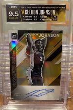 Keldon Johnson Optic Signature Series GOLD #/10 SSP Auto, RC Rookie HGA 9.5