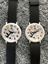 Pair Of Vintage Armitron Sylvester and Tweety Watch