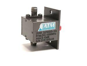 ATM RF Variable Attenuator AF033-10 DC-1000 MHz 50 Ohm SMA 0-10dB