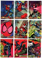 1994 Fleer The Amazing Spider-Man 1st Edition Complete Base Set 1-150 Venom