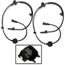 2 X New Front ABS Wheel Speed Sensor For Buick Chevrolet GMC Saturn - 22739727