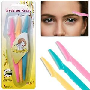 Women Ladies eyebrow razor trimmer Face Hair Removal Blade Facial Shaper Shaver